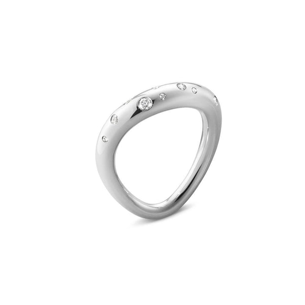 Georg Jensen - Offspring ring med brillanter-Georg Jensen-Guldsmed Lauridsen