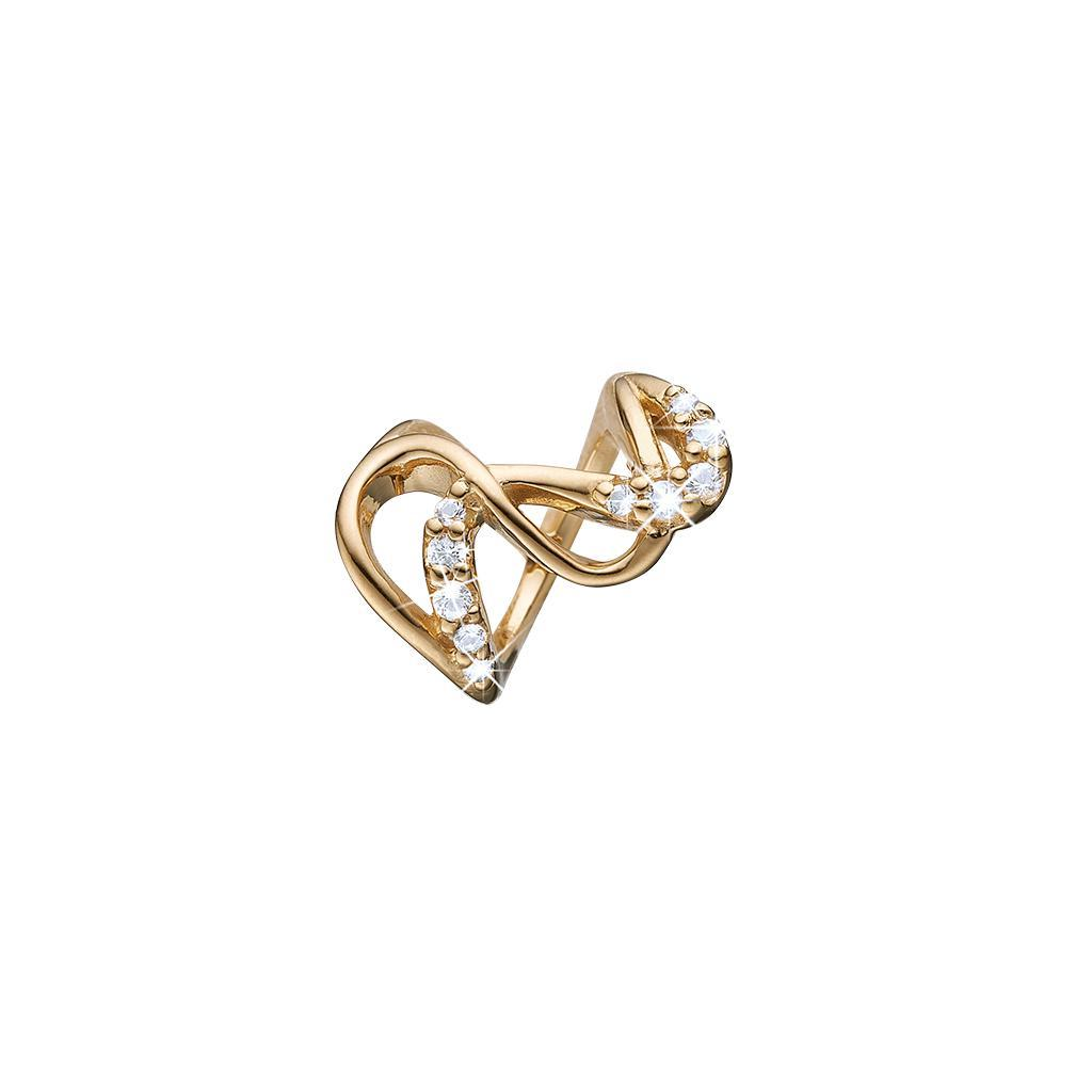 Guld charm - Love Energy-Christina Watches-Guldsmed Lauridsen