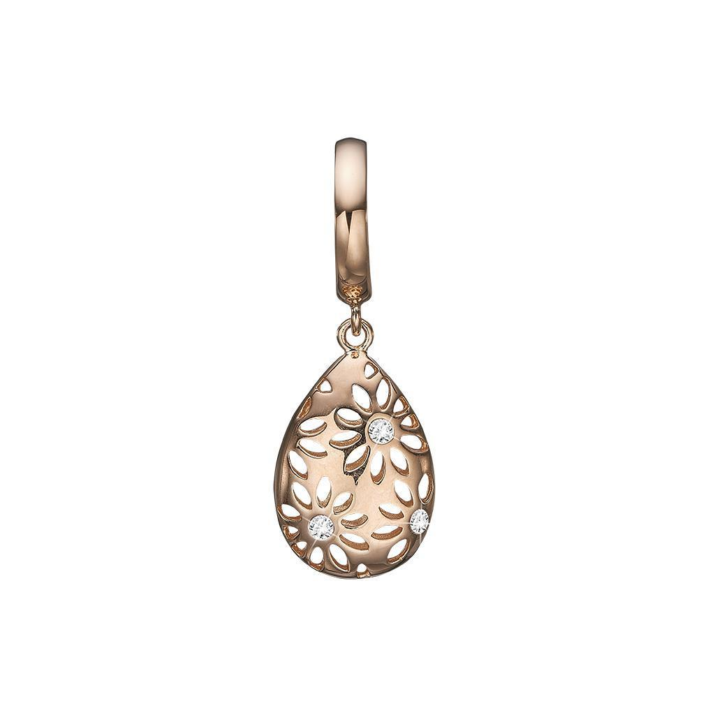 Guld charm - Magic Flowers-Christina Watches-Guldsmed Lauridsen