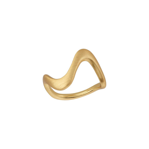 Wave ring - large-byBiehl-Guldsmed Lauridsen