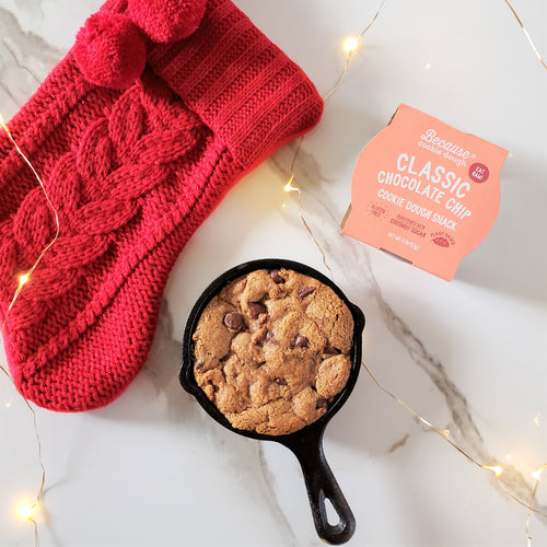 Mini Cookie Skillet + Cookie Dough!