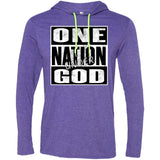 One Nation Under GOD - Mens LS T-Shirt Hoodie