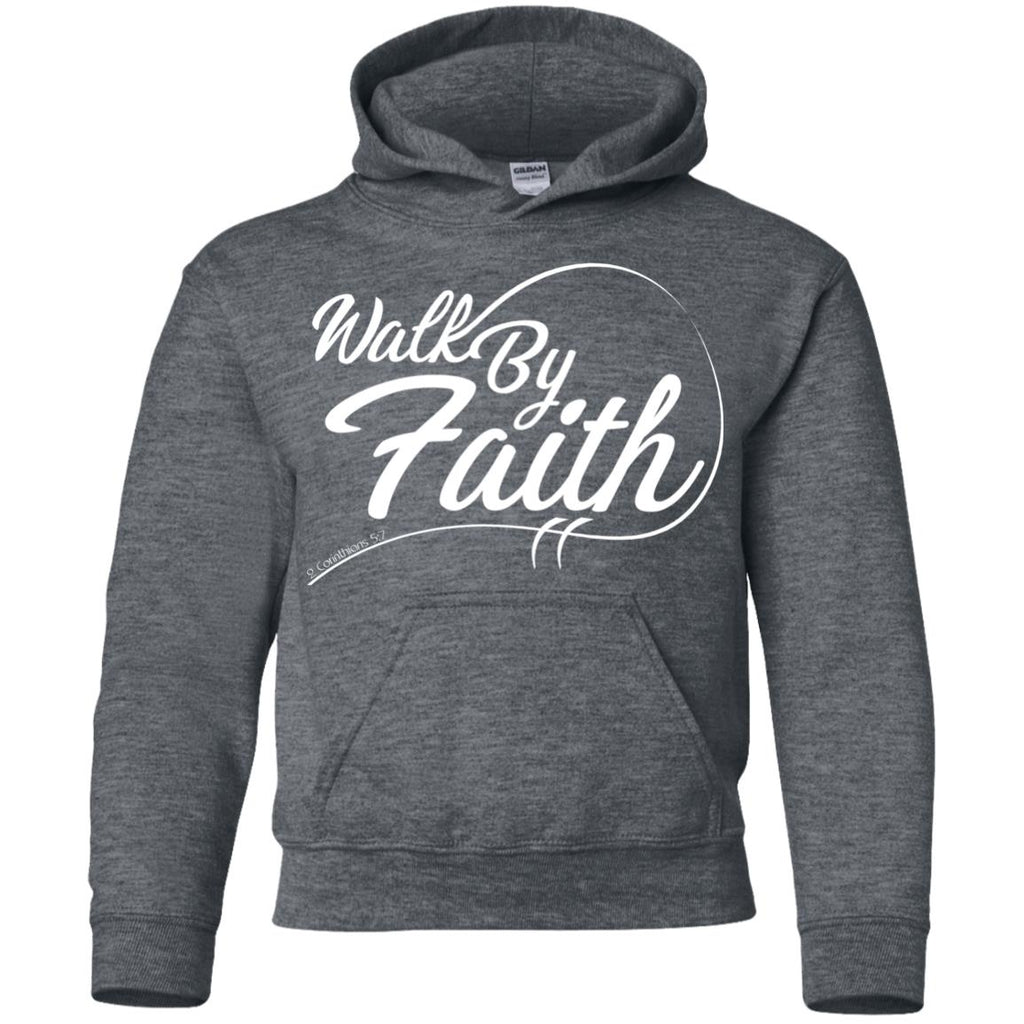 Walk By Faith - Youth Pullover Hoodie