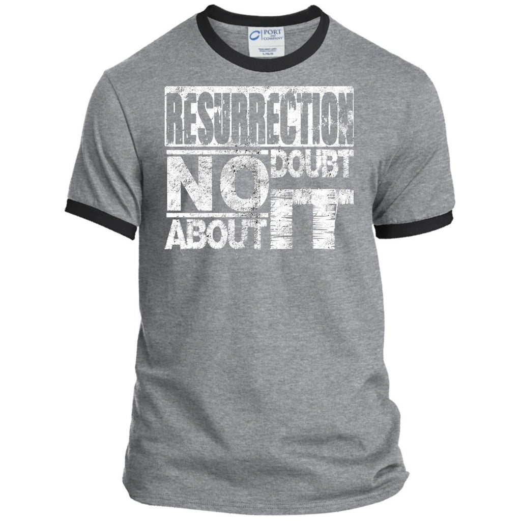 Resurrection - Mens Ringer Tee