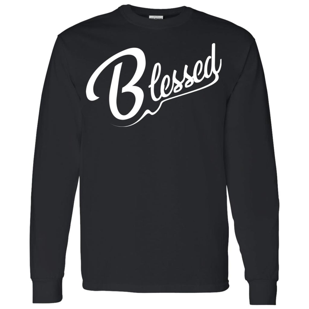 Blessed - Mens LS T-Shirt 5.3 oz.