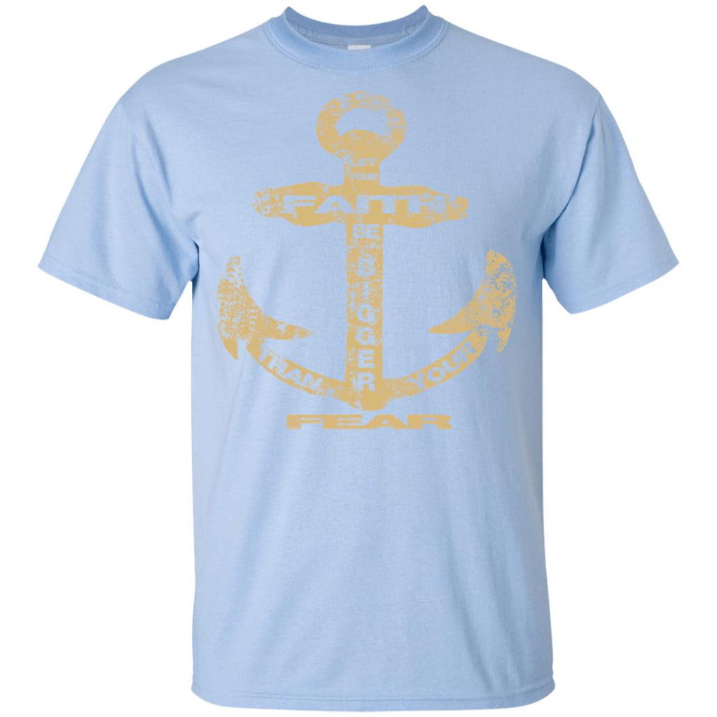 Faith Bigger Than Fear Anchor - Youth Ultra Cotton T-Shirt