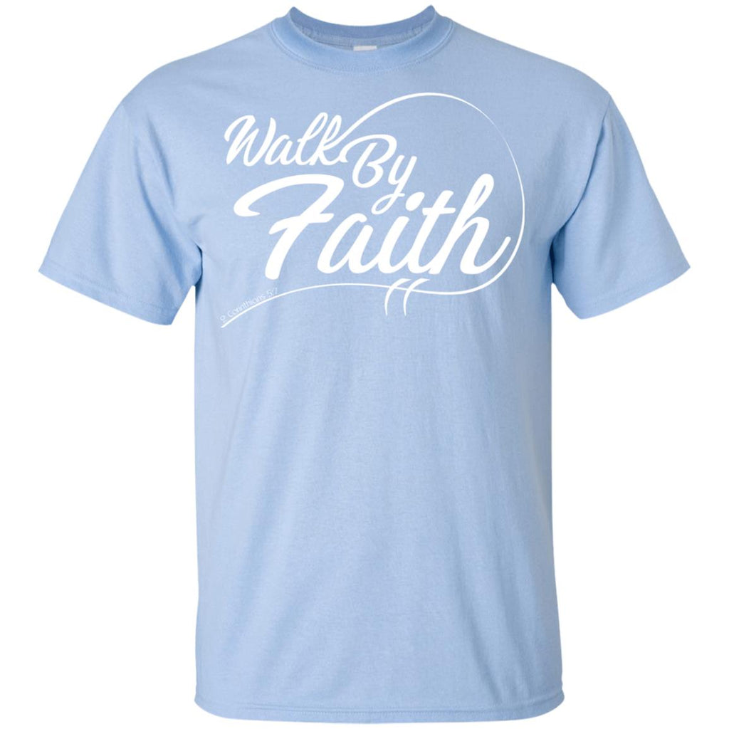 Walk By Faith - Youth Ultra Cotton T-Shirt