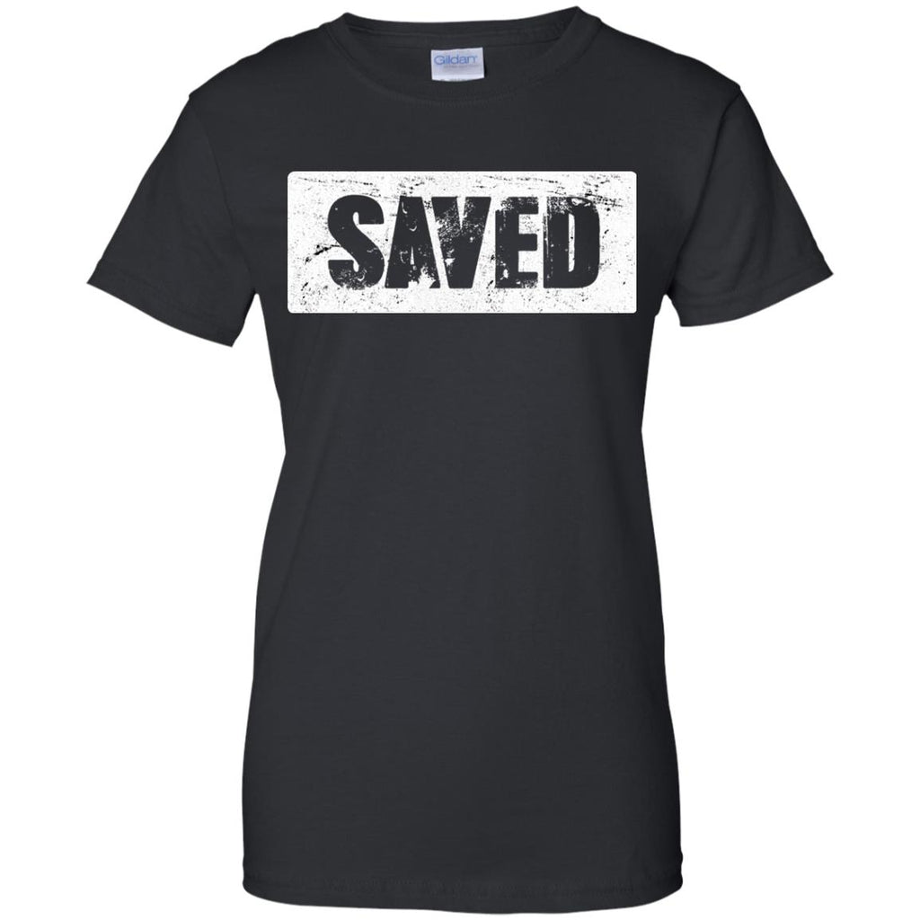 SAVED - Ladies' 100% Cotton T-Shirt