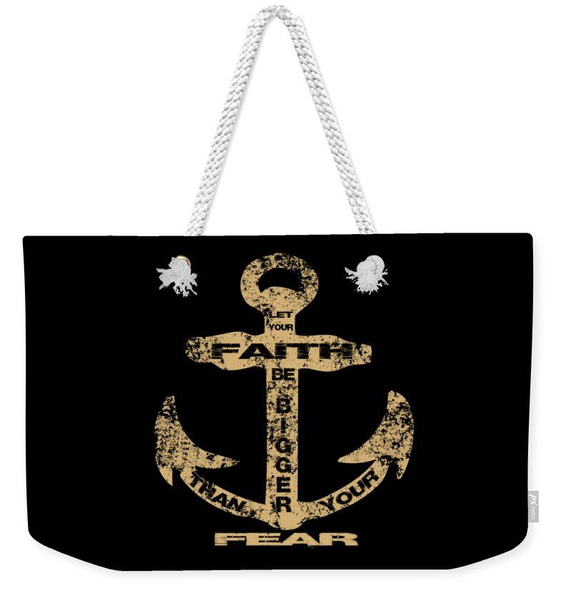 Faith Anchor - Weekender Tote Bag