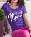 Blessed Mama - Ladies' 100% Cotton T-Shirt