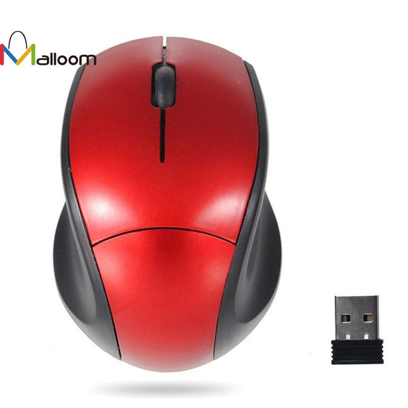 2.4GHz Mice Optical Mouse Cordless USB Receiver PC Computer Wireless for Laptop Gaming