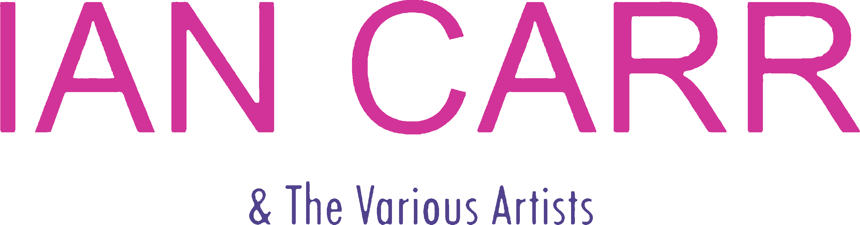 Ian Carr and the various artists logo