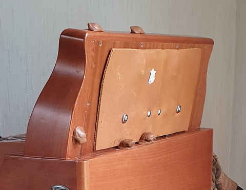 Leather coupler cover