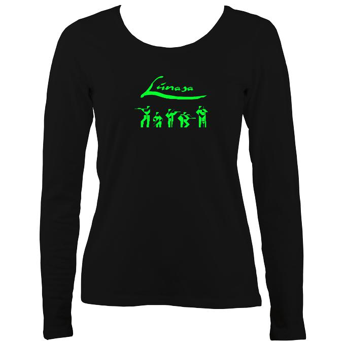 Lúnasa Band Ladies Long Sleeve Shirt