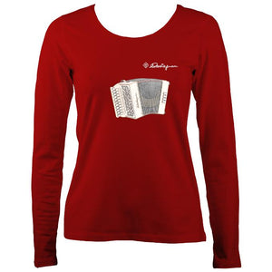 Castagnari Lilly Melodeon Ladies Long Sleeve Shirt