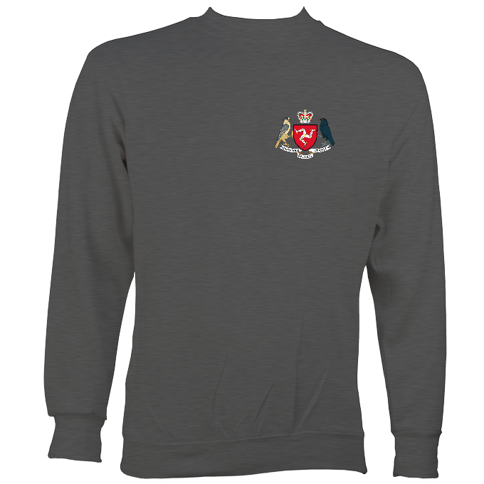 Manx Coat of Arms Sweatshirt