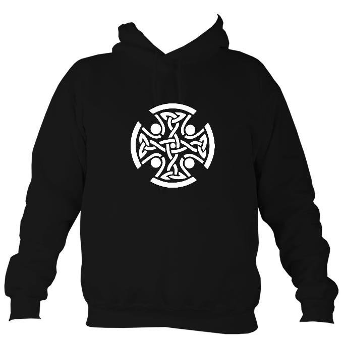 Celtic Round Hoodie-Hoodie-Hot chocolate-Mudchutney