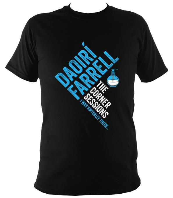 Daoiri Farrell Corner Session Bottle T-shirt - T-shirt - Black - Mudchutney