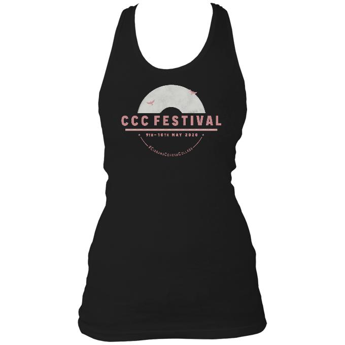 Ciaran's Corona Collabs Ladies Racerback Vest
