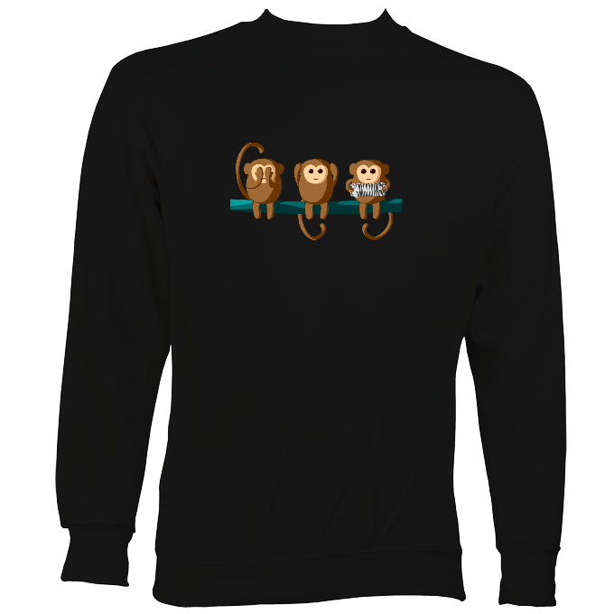 Play No Concertina Monkey Sweatshirt