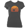 Banjo Sunset Women's Fitted T-shirt