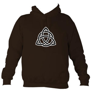 Celtic Triangular Knot Hoodie-Hoodie-Hot chocolate-Mudchutney
