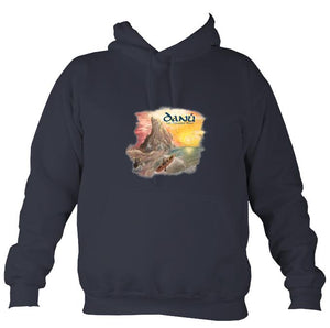Danú Ten Thousand Miles Hoodie-Hoodie-Denim-Mudchutney