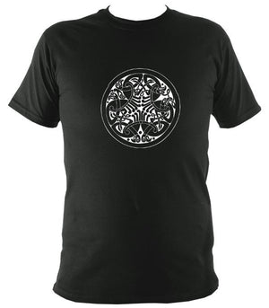 Traditional Celtic Birds T-shirt - T-shirt - Forest - Mudchutney