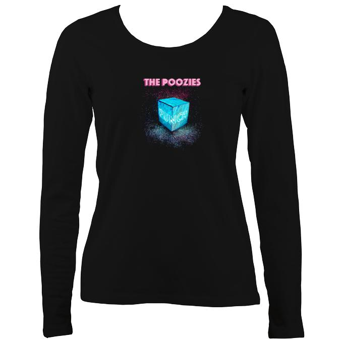 "The Poozies ""Punch"" Ladies Long Sleeve Shirt"