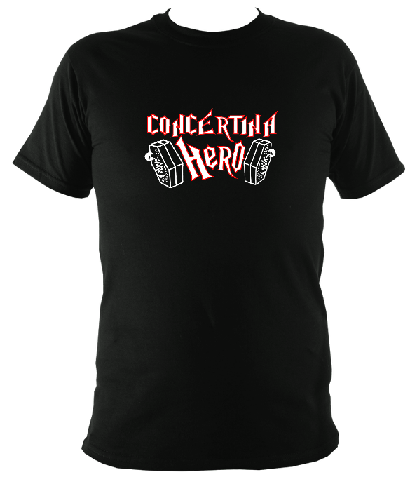Concertina Hero T-Shirt