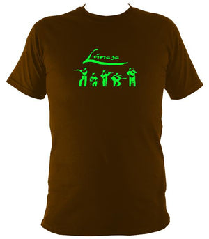 Lúnasa Irish Band T-shirt - T-shirt - Dark Chocolate - Mudchutney