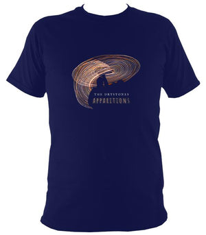 "The Drystones ""Apparitions"" T-shirt - T-shirt - Navy - Mudchutney"