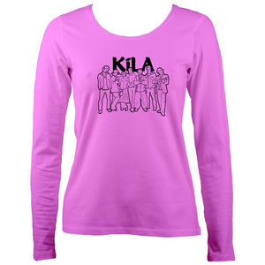 Kila Band Ladies Long Sleeve Shirt