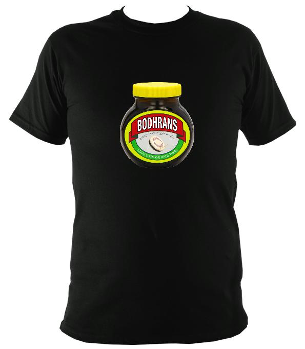 Bodhrans - Love or Hate them T-shirt - T-shirt - Black - Mudchutney