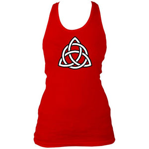 Celtic Triangular Knot Ladies Vest
