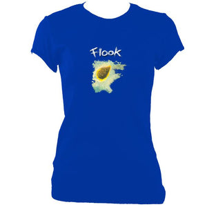 "update alt-text with template Flook ""Haven"" Ladies Fitted T-Shirt - T-shirt - Royal - Mudchutney"