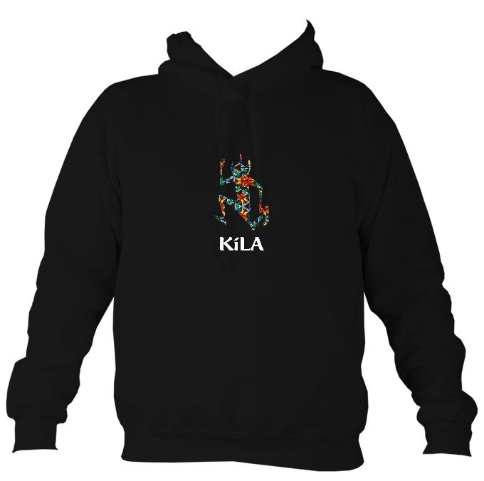Kila After Eight Hoodie-Hoodie-Jet black-Mudchutney