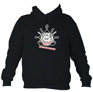 "Folk Weekend: Oxford ""2020 Lockdown Edition"" Hoodie-Hoodie-French navy-Mudchutney"