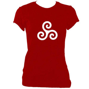 Triskelion Ladies Fitted T-shirt