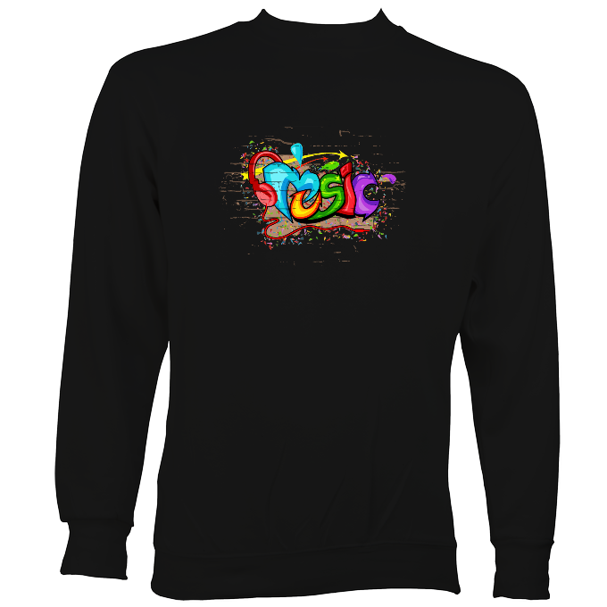 Music Graffiti Sweatshirt