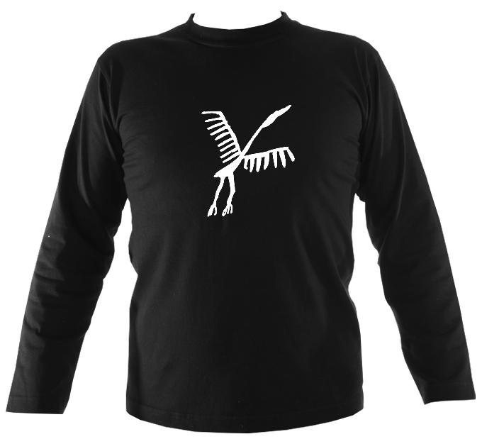 Ancient Spanish Bird Mens Long Sleeve Shirt