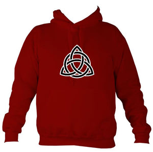 Celtic Triangular Knot Hoodie-Hoodie-Red hot chilli-Mudchutney