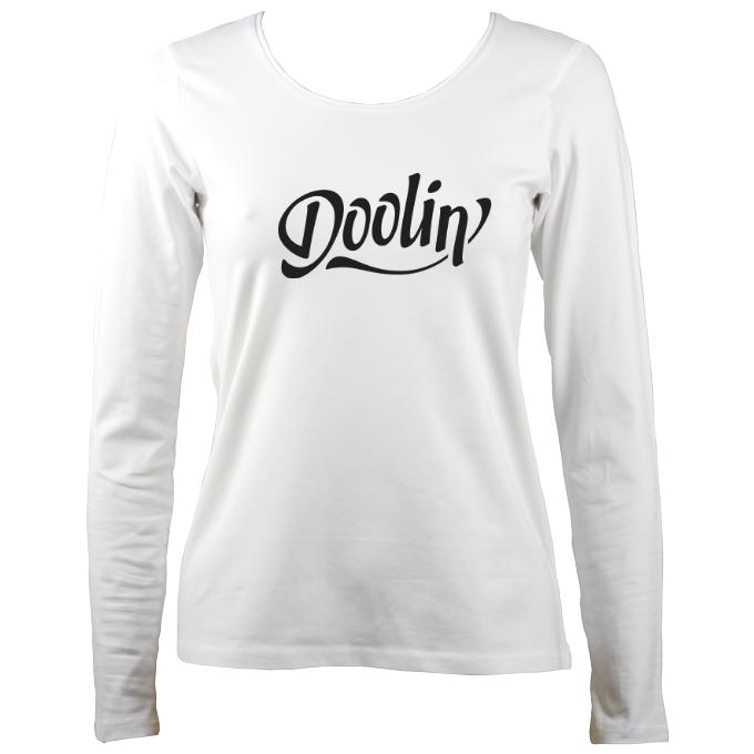 Doolin Irish Band Ladies Long Sleeve Shirt