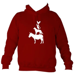 Animal Band Hoodie-Hoodie-Red hot chilli-Mudchutney