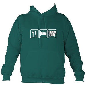 Eat, Sleep, Play Melodeon Hoodie-Hoodie-Jade-Mudchutney