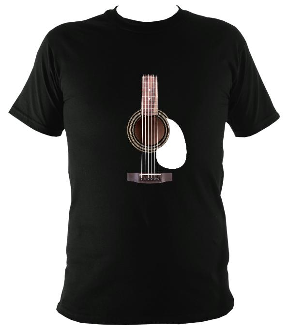 Guitar Strings and Neck T-shirt - T-shirt - Black - Mudchutney