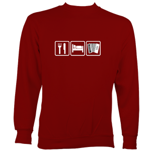 Eat, Sleep, Play Melodeon Sweatshirt