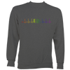 Heartbeat Rainbow Accordion Sweatshirt