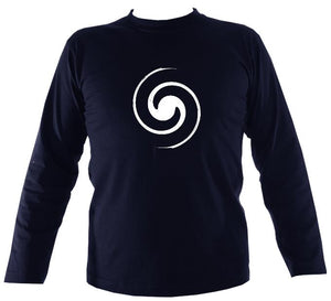 Spiral Mens Long Sleeve T-shirt