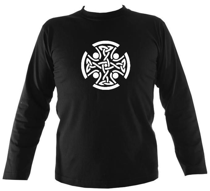 Celtic Round Mens Long Sleeve Shirt